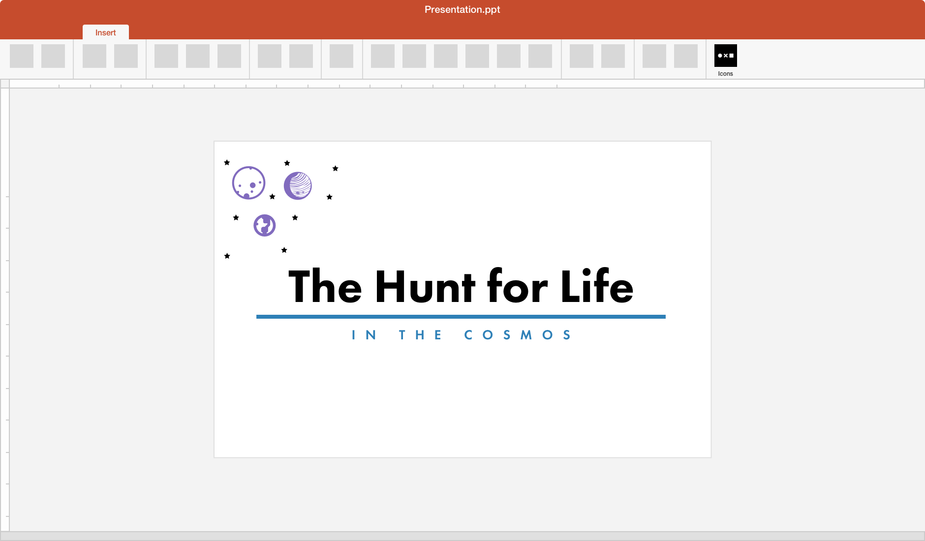 Noun Project for Microsoft PowerPoint & Word